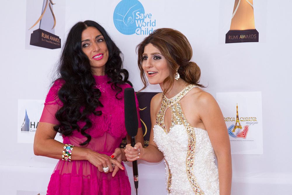 Cara Ciutan zur Preisverleihung Rumi Awards