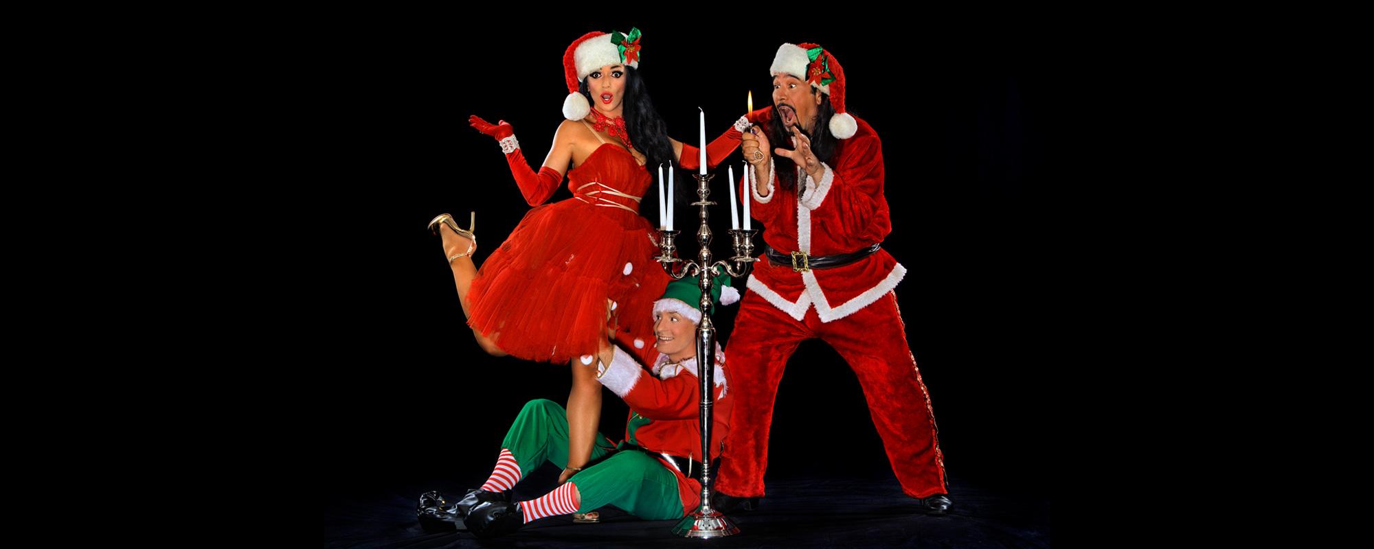OH NÖ, SCHON WIEDER WEIHNACHTEN Eine nicht ganz ernst zu nehmende Weihnachtsshow mit Cara Ciutan